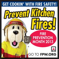 Prevent Kitchen fires